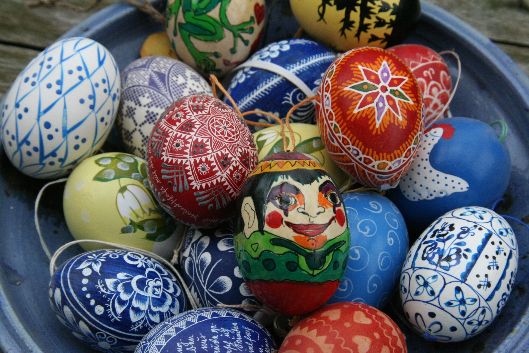 Inspiration for Decoration of Easter Eggs