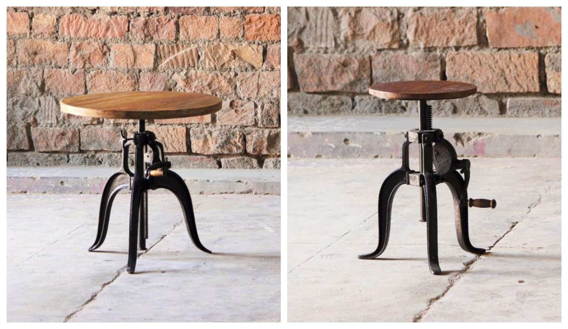 Reclaimed Materials - Stool and Tables