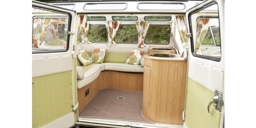 Restored Vintage Campervans