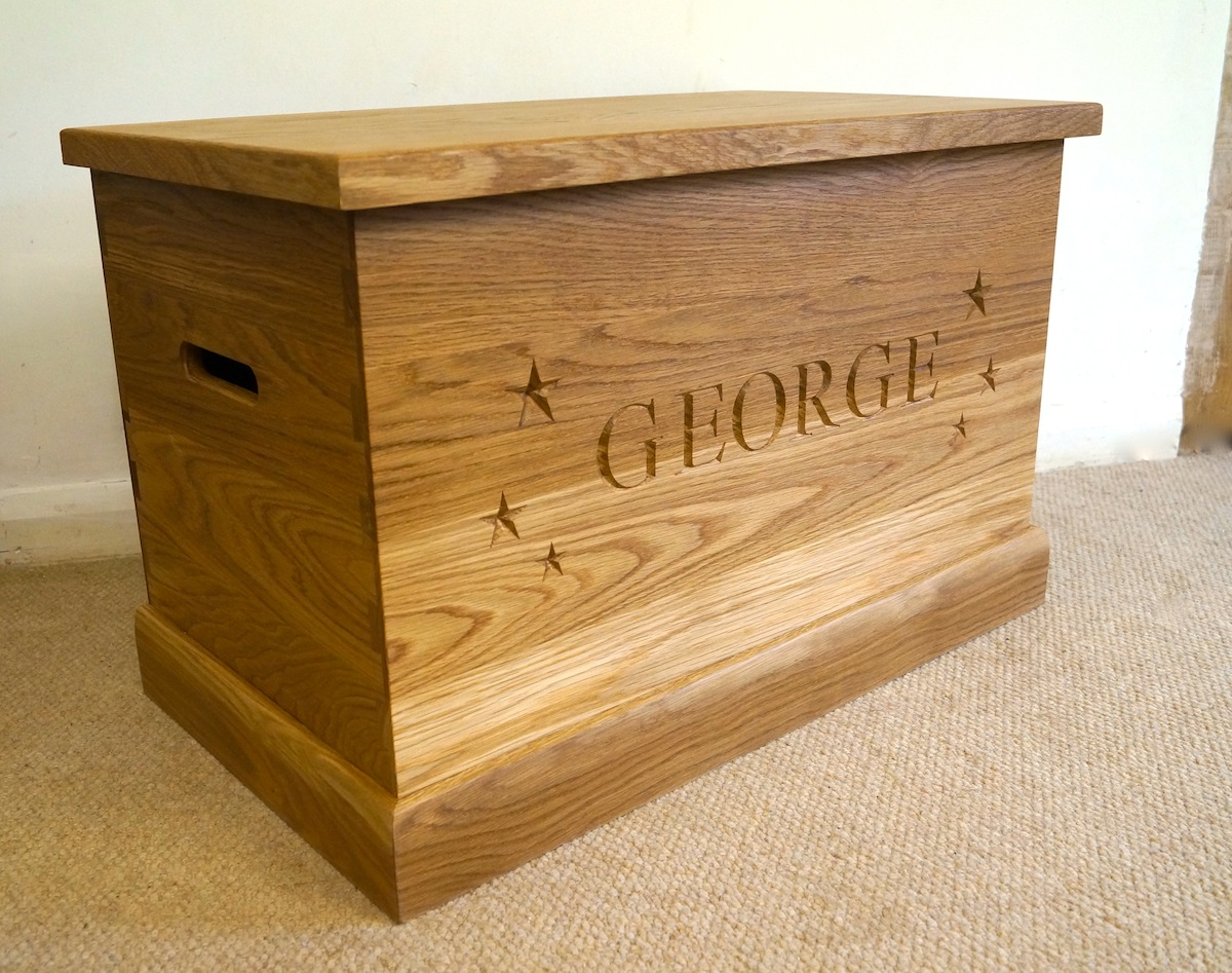 Oak Toy Boxes Ao Home