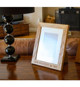 Personalised Wooden Photo Frames