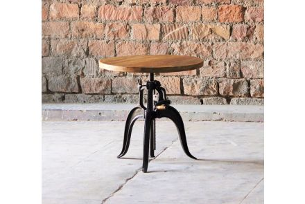 Hyatt Industrial Crank Table