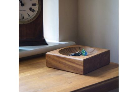 Personalised Wooden Key Bowl
