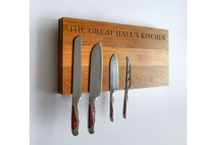 Magnetic Wooden Knife Racks