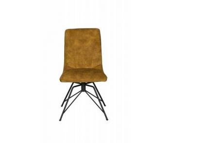 Lola Dining Chair (Gold Velvet)