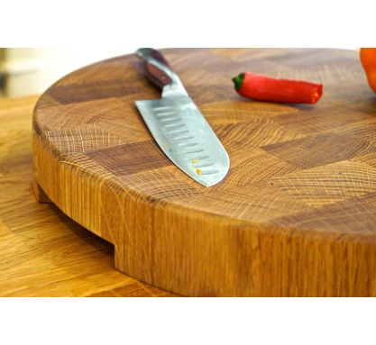 Round End Grain Chopping Boards