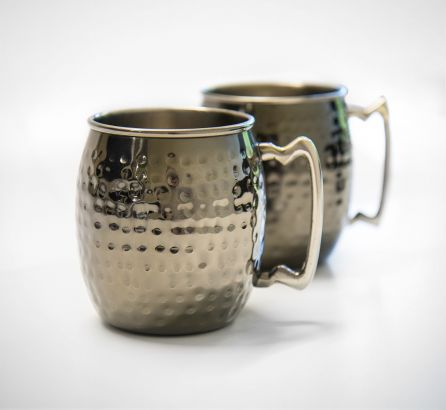 Gun Metal Barrel Mug