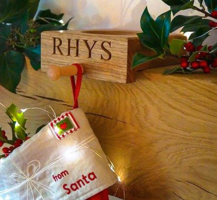 Personalised Stocking Holder