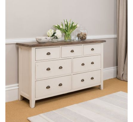 Cotswold 7 Drawer Wide Chest