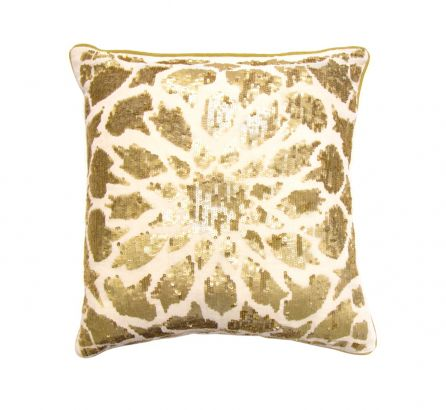 Gold Sequin Cushion