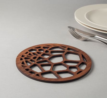 Voronoi Coaster Set
