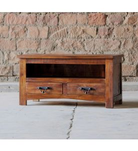 Rustica Reclaimed 2 Drawer TV Unit