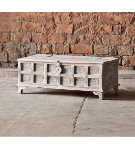 Whiteleaf Upcycled Trunk Coffee Table