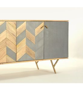 Mazi 4-Door Sideboard