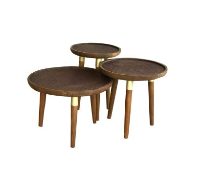 Anchora Nest of 3 Coffee Tables