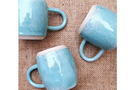 Mottled Green Mug - Small