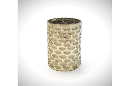 Tall Golden Candle Holder