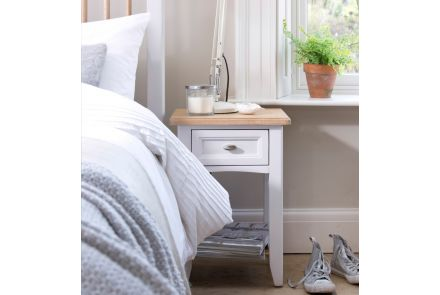 Grasmere 1 Drawer Bedside Table