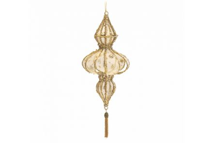 Gold Christmas Hanging Decoration