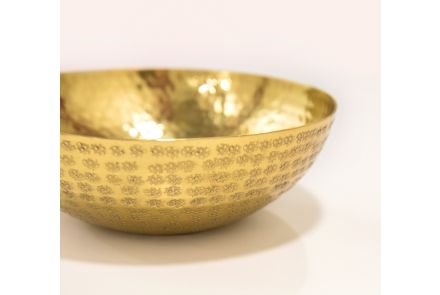 Gold Buddhist Bowl