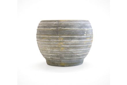 Handmade Grey Planter