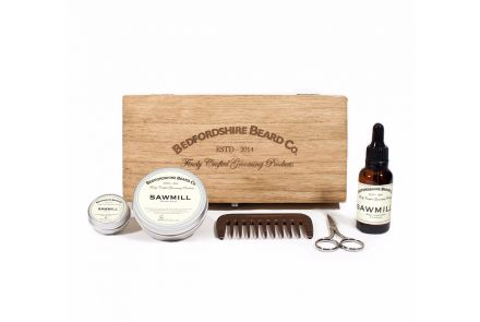 Deluxe Beard Grooming Gift Set - Sawmill