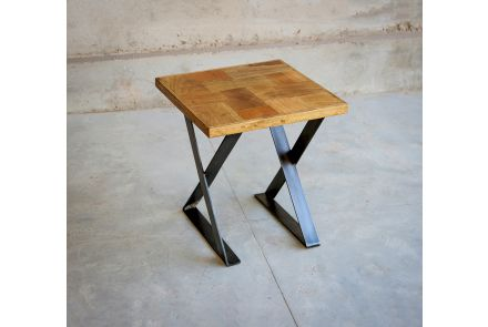 Hickory Lamp Table