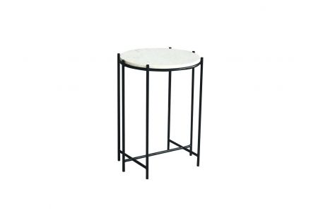 Winstone Marble Top Side Table