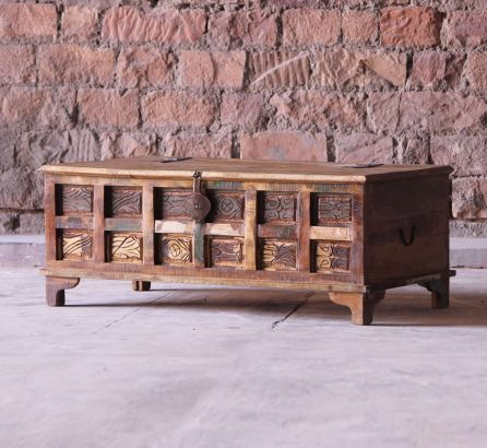 Aimee Reclaimed Trunk Coffee Table