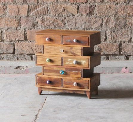 Shimla Reclaimed 8 Drawer Chest