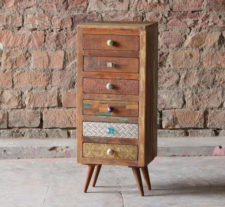 Shimla Reclaimed 6 Drawer Chest