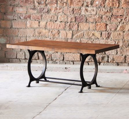 Hyatt Industrial Dining Table