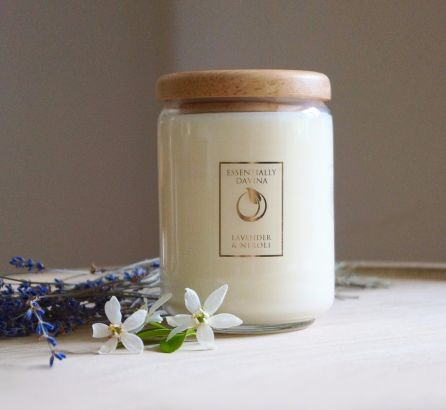 Natural Essential Oil Candle