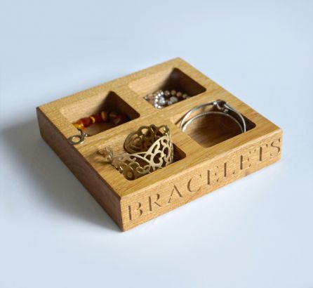 Wooden Jewellery Trays
