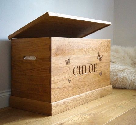 Oak Toy Boxes