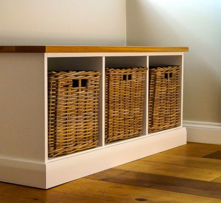 Wooden Shoe Storage Unit