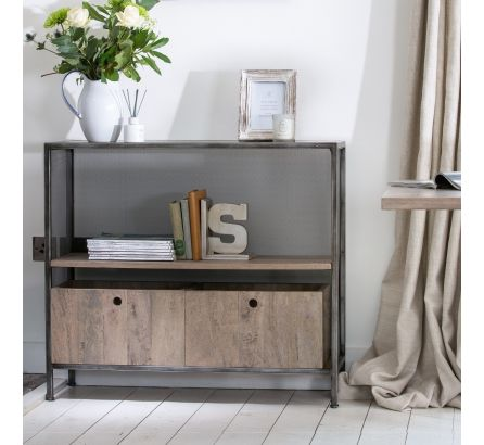 Tannery Metal Console Table