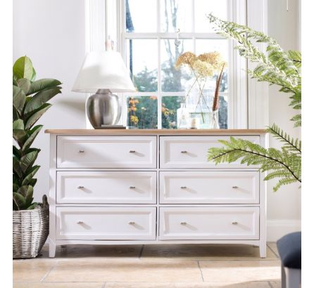 Grasmere 6 Drawer Wide Chest