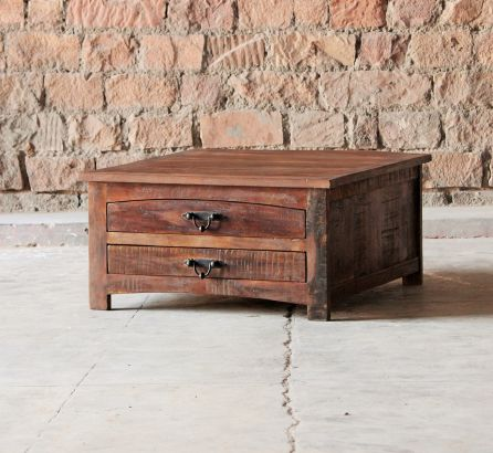 Rustica Reclaimed Square Coffee Table