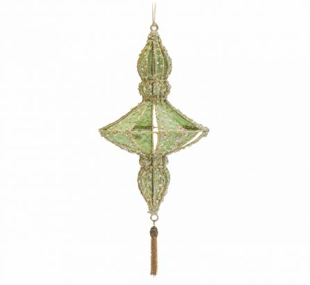 Green Christmas Hanging Decoration