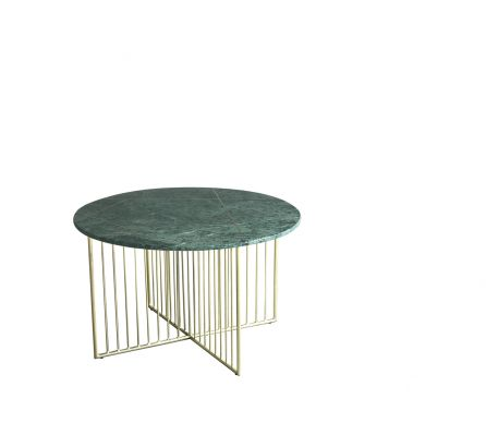Lalit Marble and Inlay Coffee Table
