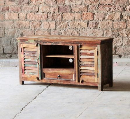 Mary Rose Reclaimed 1 Drawer 2 Door TV Unit