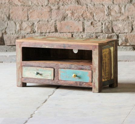 Mary Rose Reclaimed 2 Drawer TV Unit