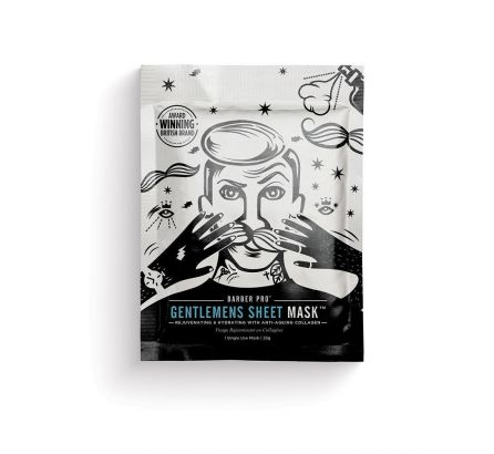 Gentlemen Sheet Mask with Collagen