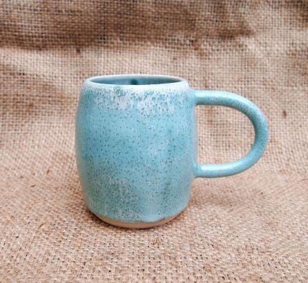 Mottled Green Mug - Medium