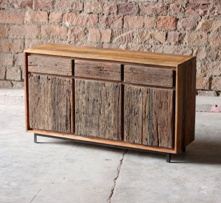 Ashburnham Sleeper Large 3 Door 3 Drawer Sideboard