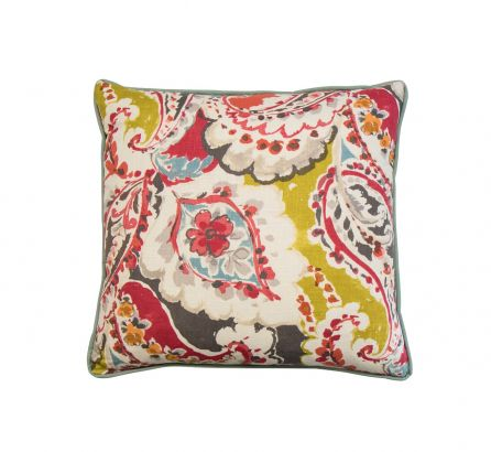 Abstracted Floral Cushion