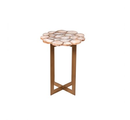 Willow Agate Side Table