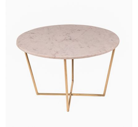 Whitby Brass and Marble Coffee Table
