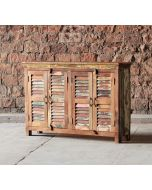 Mary Rose Reclaimed 4 Door Sideboard